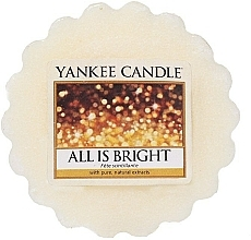 Fragrances, Perfumes, Cosmetics Scented Wax - Yankee Candle All is Bright Wax Melts