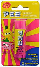 Fragrances, Perfumes, Cosmetics Raspberry & Lemon Lip Balm - PEZ Raspberry Lemon Lip Balm