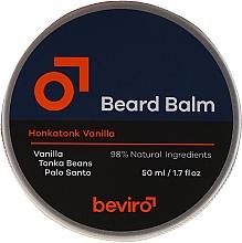 Fragrances, Perfumes, Cosmetics Beard Balm - Beviro Beard Balm Vanilla, Palo Santo, Tonka Boby