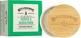 Fragrances, Perfumes, Cosmetics Vetiver & Sandalwood Shave Soap - Scottish Fine Soaps Vetiver & Sandalwood Shaving Soap