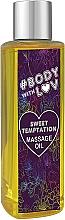 """Fragrances, Perfumes, Cosmetics Massage Oil """"Sweet Temptation"""" - New Anna Cosmetics Body With Luv Massage Oil Sweet Temptation"""