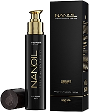 Fragrances, Perfumes, Cosmetics Medium Porosity Hair Oil - Nanoil Hair Oil Medium Porosity