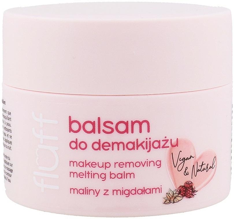 "Makeup Removing Balm ""Raspberry & Almond"" - Fluff Makeup Removing Melting Balm"