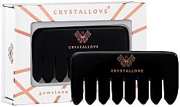 Fragrances, Perfumes, Cosmetics Massaging Obsidian Hair Comb - Crystallove