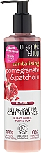 "Fragrances, Perfumes, Cosmetics Hair Conditioner ""Pomegranate & Patchouli"" - Organic Shop Invigorating Conditioner"