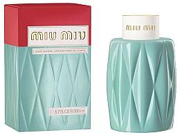 Fragrances, Perfumes, Cosmetics Miu Miu Miu Miu - Body Lotion