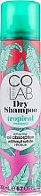 Fragrances, Perfumes, Cosmetics Dry Shampoo with Tropical Scent - Colab Tropical Dry Shampoo