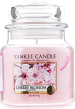 Fragrances, Perfumes, Cosmetics Candle in Glass Jar - Yankee Candle Cherry Blossom
