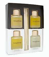 Fragrances, Perfumes, Cosmetics Set - AromaWorks Light Range Reed Diffuser (diffuser/4x[100ml)