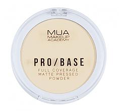 Fragrances, Perfumes, Cosmetics Face Compact Mattifying Powder - MUA Pro-Base Full Coverage Matte Pressed Powder