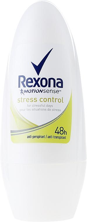 "Roll-on Deodorant ""Stress Control"" - Rexona Antiperspirant Motionsense Stress Control Roll-on"