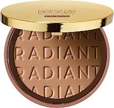 Fragrances, Perfumes, Cosmetics Face Bronzing Powder - Pupa Extreme Bronze Radiant Powder