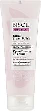Fragrances, Perfumes, Cosmetics Moisturizing Cream Polish - Bisou Hydro Bio Facial Cream Polish