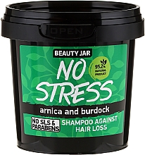 Fragrances, Perfumes, Cosmetics Anti Hair Loss Shampoo - Beauty Jar No Stress Shampoo Against Hair Loss
