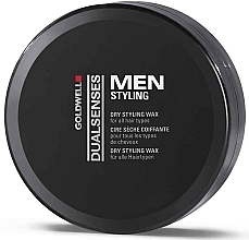 Fragrances, Perfumes, Cosmetics Dry Hair Styling Wax - Goldwell Goldwell Dualsenses For Men Dry Styling Wax