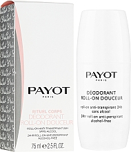Fragrances, Perfumes, Cosmetics Roll-On Antiperspirant - Payot Le Corps Deodorant Ultra Douceur Alcohol Free Roll On Deodorant