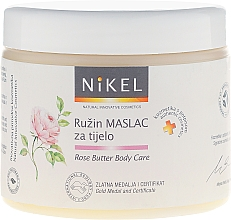 Fragrances, Perfumes, Cosmetics Rose Body Butter - Nikel Rose Butter