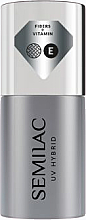 Fragrances, Perfumes, Cosmetics Gel Polish Base Coat - Semilac UV Hybrid Dream Long Base