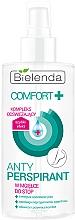 Fragrances, Perfumes, Cosmetics Foot Antiperspirant Spray - Bielenda Comfort Foot Antiperspirant Spray Mist