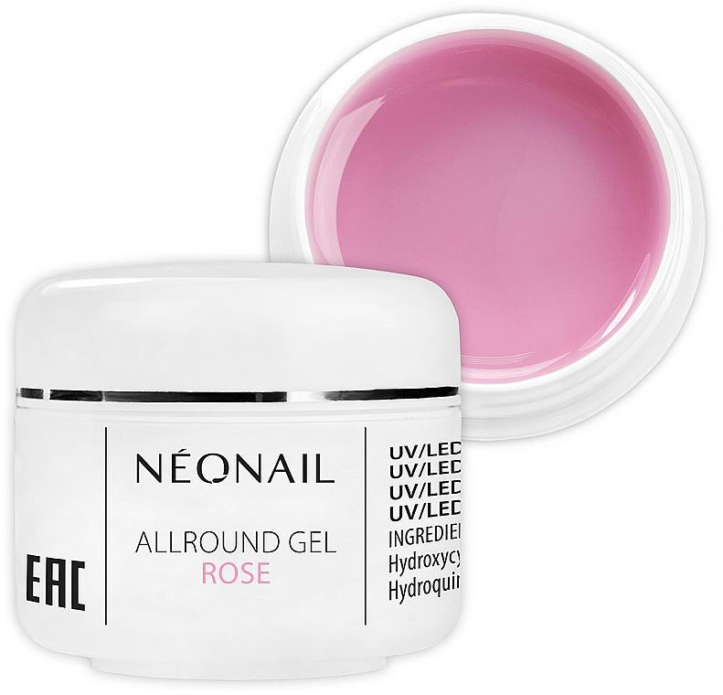 1-Phase Rose Gel - NeoNail Professional Allround Gel Rose — photo N1