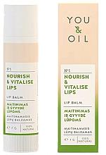 "Fragrances, Perfumes, Cosmetics Lip Balm ""Nutrition and Revitalization"" - You & Oil Nourish & Vitalise Lip Balm"
