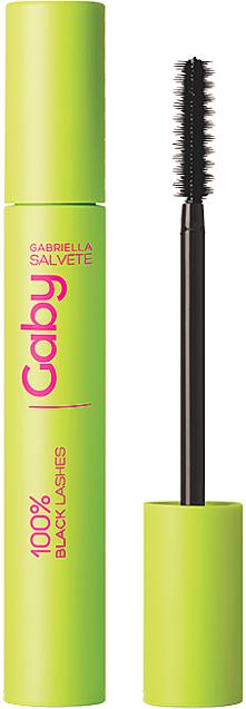 Lengthening Lash Mascara - Gabriella Salvete Gaby 100% Black Lashes Mascara