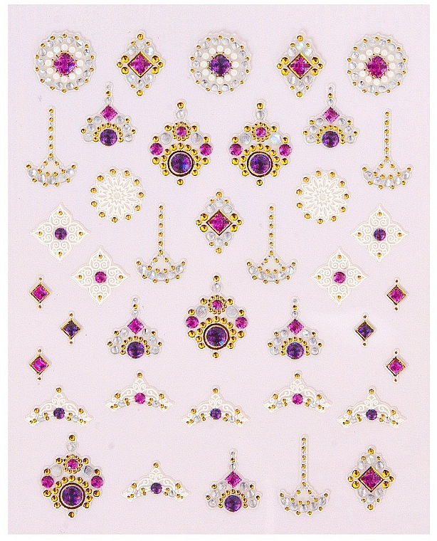 Nail Art Stickers - Peggy Sage Decorative Nail Stickers Luxury