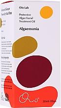 Fragrances, Perfumes, Cosmetics Protective Algae Face Oil - Oio Lab Algaemania Protective Algae Facial Treatment Oil