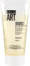 Fragrances, Perfumes, Cosmetics Curling Cream Gel with Antistatic Effect - L'Oreal Professionnel Tecni.Art Dual Stylers Bouncy&Tender Cream-Gel