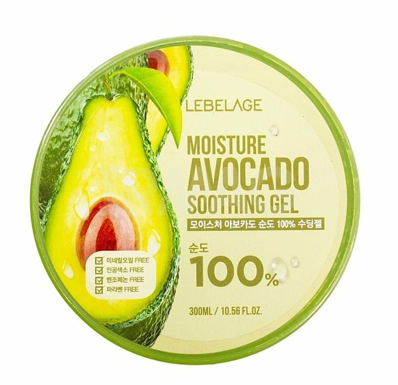 Face Gel - Lebelage Moisture Avocado 100% Soothing Gel