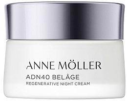 Fragrances, Perfumes, Cosmetics Night Face Cream - Anne Moller ADN40 Belage Regenerative Night Cream