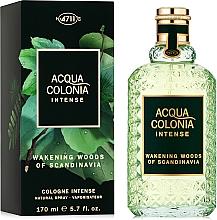 Fragrances, Perfumes, Cosmetics Maurer & Wirtz Acqua Colonia Intense Wakening Woods Of Scandinavia - Eau de Cologne