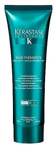 Very Damaged Hair Bath Shampoo - Kerastase Resistance Bain Therapiste