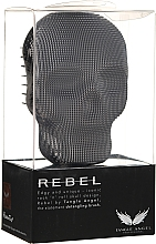 Fragrances, Perfumes, Cosmetics Hair Brush - Tangle Angel Rebel Brush Black Chrome
