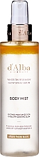 Fragrances, Perfumes, Cosmetics Body Serum Mist - D'Alba White Truffle Body Glow Spray Serum