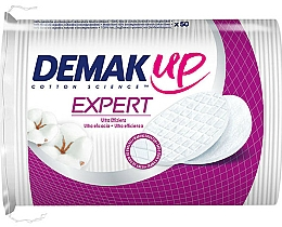Fragrances, Perfumes, Cosmetics Cosmetic Cotton Pads - Demak Up Expert Oval Wattepads