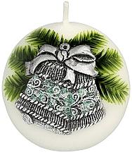 "Fragrances, Perfumes, Cosmetics Decorative Candle ""Ball. Christmas Bell"", 8 cm - Artman Christmas Bell Candle Ball"