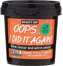 "Fragrances, Perfumes, Cosmetics Colored Hair Shampoo ""Oops…I did it again!"" - Beauty Jar Shampoo For Colour-Treated And Damaged Hair"