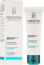 Fragrances, Perfumes, Cosmetics Active Cracked Heel Serum - Iwostin Body Pro Serum