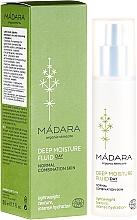 Fragrances, Perfumes, Cosmetics Deep Moisturizing Face Cream-Fluid - Madara Cosmetics EcoFace