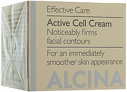 Fragrances, Perfumes, Cosmetics Anti-Aging Cell Active Face Cream - Alcina E Zell Aktiv Creme
