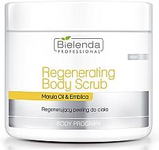 Fragrances, Perfumes, Cosmetics Regenerating Body Scrub - Bielenda Professional Body Program Resenerating Body Scrub