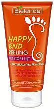 Fragrances, Perfumes, Cosmetics Feet and Heels Peeling with Natural Pumice Stone - Bielenda Happy End Peeling Feet And Heels With A Pumice Stone Natural