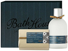 Fragrances, Perfumes, Cosmetics Bath House Bergamot & Amber - Set (edc/100ml + soap/150g)