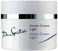 Fragrances, Perfumes, Cosmetics Light Soothing Azulene Cream for Sensitive Skin - Dr. Spiller Azulen Cream Light