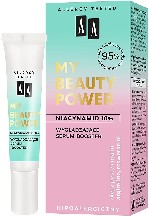 Smoothing Face Serum-Booster - AA My Beauty Power Niacinamide 10% Smoothing Serum-Booster