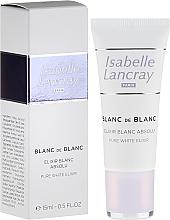 Fragrances, Perfumes, Cosmetics Brightening Serum - Isabelle Lancray Blanc De Blanc Pure White Elixir