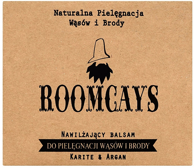 Moustache and Beard Balm with Shea Butter - Roomcays