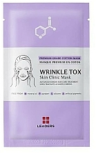 Fragrances, Perfumes, Cosmetics Firming Mask - Leaders Wrinkle Tox Skin Clinic Mask