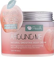 Fragrances, Perfumes, Cosmetics Smoothie Cream Peach - Welcos Around Me Natural Body Smoothie Cream Peach